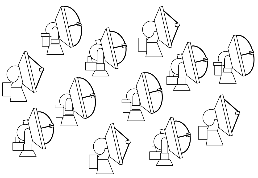 ALMA (multiple antennas) colouring sheet